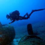 Skuba diving