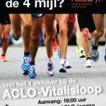 ACLO-Vitalisloop op woensdag 1 oktober!