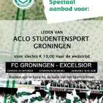Wil jij naar FC Groningen – Excelsior?
