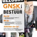 PRAccie en GNSK Bestuur gezocht!