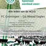 Voor €10,- naar FC Groningen – Go Ahead Eagles!