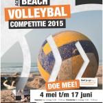 De inschrijving voor de interne Beachvolleybal competitie is geopend!