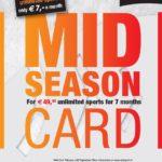 Koop je Midseason Card vanaf 1 februari 2018!