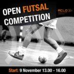Schrijf je nu in voor de interne zaalvoetbalcompetitie!