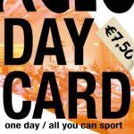 Probeer het ACLO Sportaanbod nu met een ACLO Day Card!
