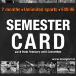 You can buy your 2nd Semester Card now!