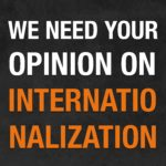 Give your opinion on the internationalization of the ACLO!