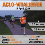 On Wednesday the 17th of April the ACLO-Vitalisrun takes place again!