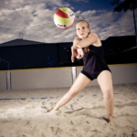 Sport of this week – Beach volleyball!