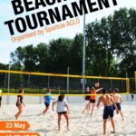 Participate in the beach tournament on the 23rd of May!