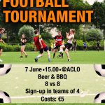 Participate in the Football Tournament on the 7th of June!