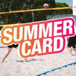 Koop nu je Summer Card voor slechts €24,95!