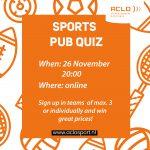 ACLO Sports Pub Quiz