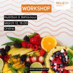 Workshop Nutrition & Behaviour