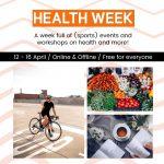Healthweek 12-16 april