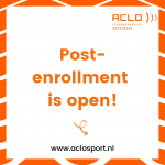 Post-enrollment course period 4A is open!
