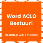 Bestuur jij in 2021-2022 de ACLO?